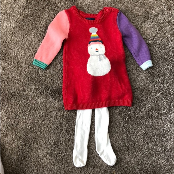 Clothing, Shoes & Accessories Provided Dress And Tights Outfit 12-18months Girls Dresses
